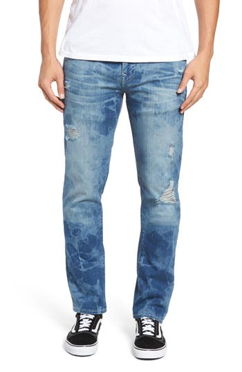 Big & Tall True Religion Brand Jeans Geno Straight Leg Jeans, Blue