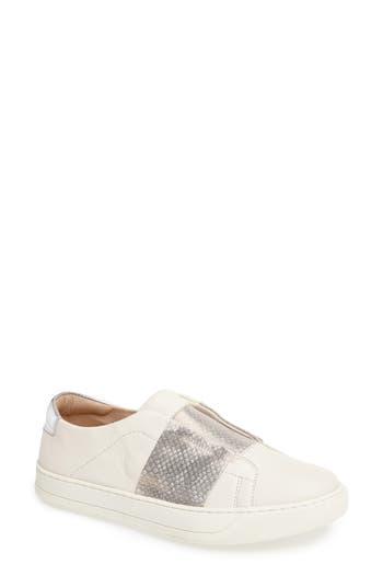 Johnston & Murphy Eden Slip-On Sneaker- White