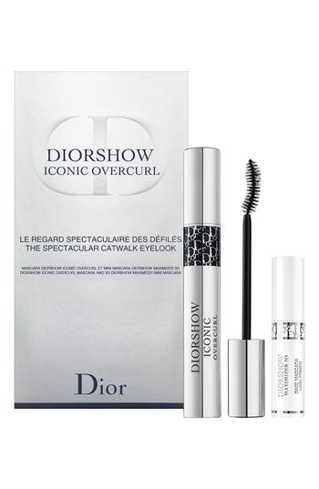 Dior Diorshow Iconic Overcurl The Spectacular Catwalk Mascara Set - No Color
