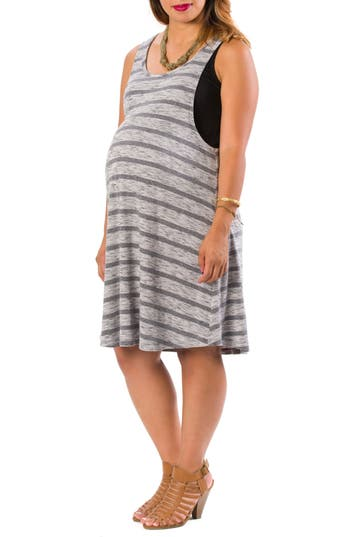 Lab40 Danielle Maternity/nursing Tank Dress