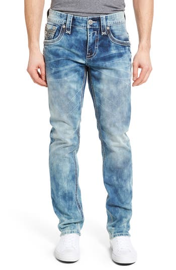 Rock Revival Alternative Straight Leg Jeans
