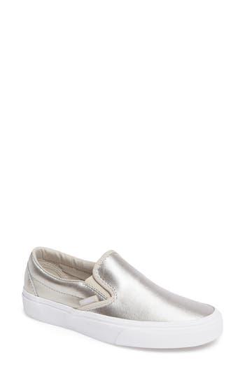 Vans Classic Slip-On Sneaker, Metallic