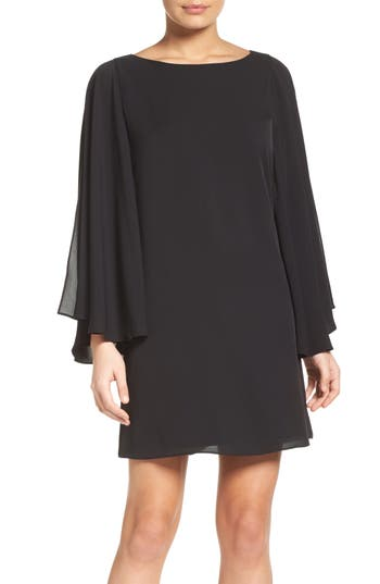 Chelsea28 Butterfly Sleeve Shift Dress