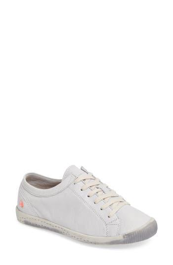 Fly London Isla Distressed Sneaker - White