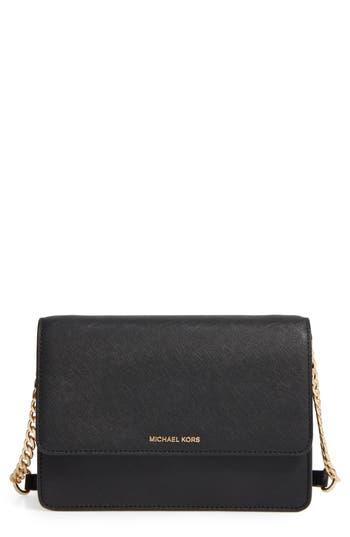 Michael Michael Kors Large Daniela Leather Crossbody Bag -