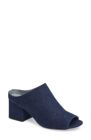 Women's Matisse Misty Block Heel Mule, Size 6 M - Blue