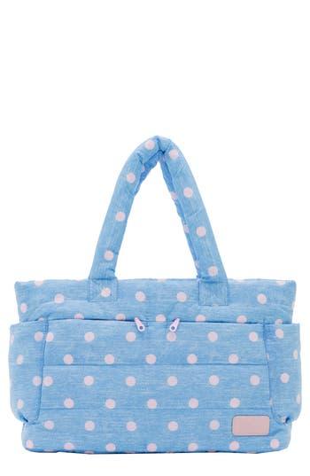 Infant Haru Print Classic Water Repellent Diaper Bag  Blue