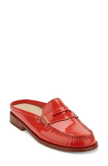 Women's G.h. Bass & Co. Wynn Loafer Mule, Size 6 M - Orange