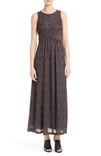 M Missoni Metallic Maxi Dress