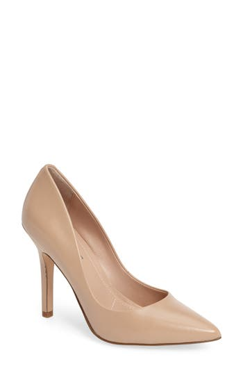 Charles By Charles David Maxx Pointy Toe Pump- Beige