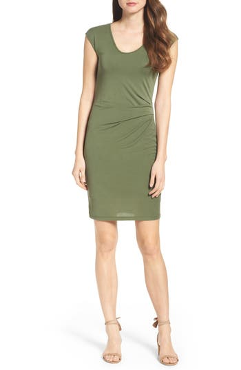 Fraiche By J Body-Con Dress, Green