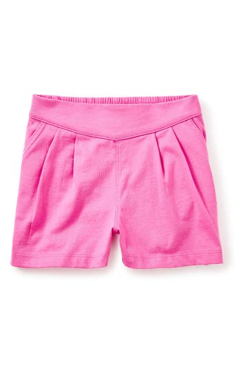 Girl's Tea Collection Boat Dock Shorts, Size 10 - Pink