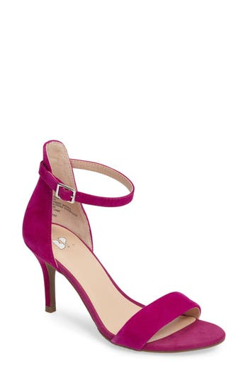 Women's Bp. 'Luminate' Open Toe Dress Sandal, Size 8 M - Pink