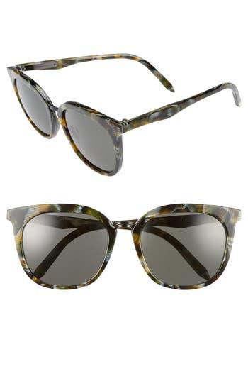 Victoria Beckham Combination Classic 5m Sunglasses - Moss Fleck
