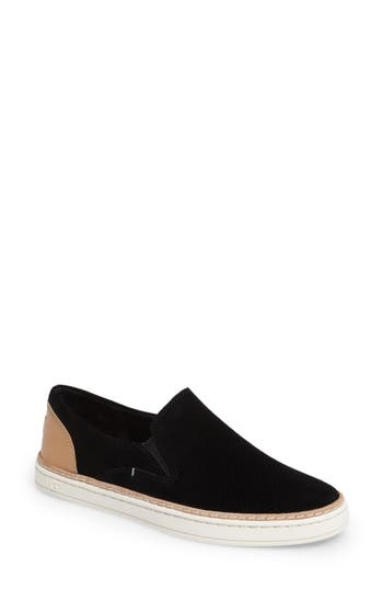 Ugg Adley Slip-On Sneaker- Black