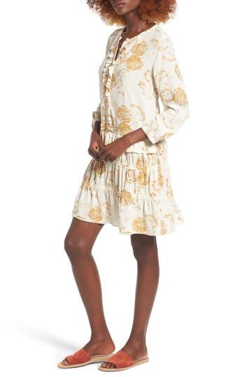 Women's Hinge Ruffle Shift Dress