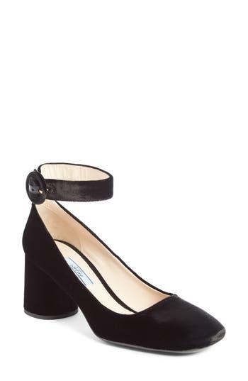 Women's Prada Ankle Strap Pump