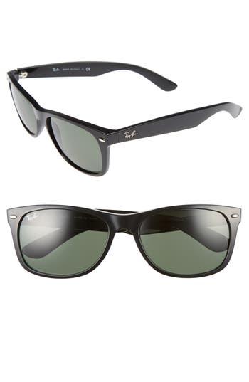 Ray-Ban 5m Rectangular Wayfarer Sunglasses - Crystal Green