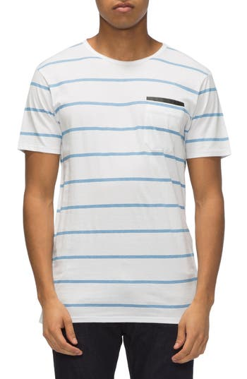 Tavik Tracer Stripe T-Shirt, White