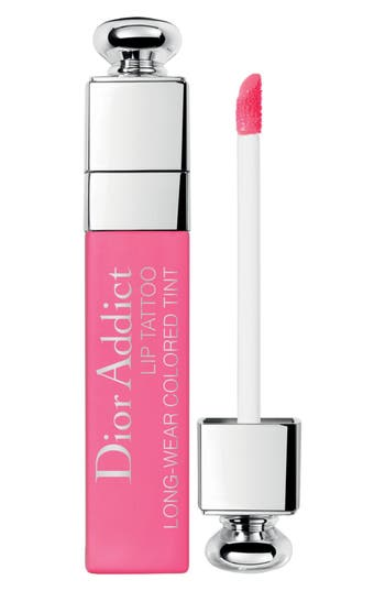 Dior Addict Lip Tattoo Long-Wearing Color Tint - 881 Natural Pink at NORDSTROM.com