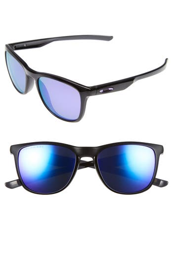 Oakley Trillbe X 52Mm Polarized Sunglasses - Black Ink/ Violet Iridium P