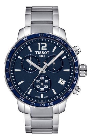 Tissot Quickster Chronograph Bracelet Watch, 42Mm