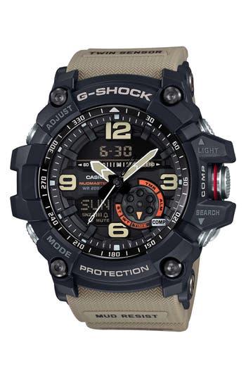 G-Shock AD Mudmaster Strap Watch, 56mm