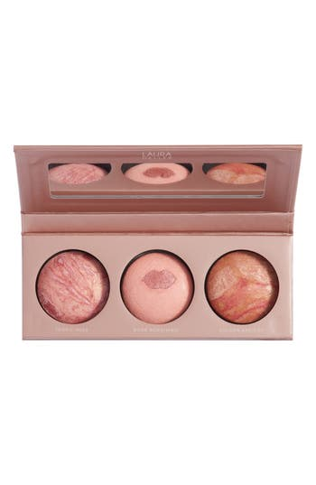 Laura Geller Beauty Just Blushing Baked Blush Trio - No Color