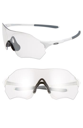 Oakley Evzero Range Prizm(TM) 7m Shield Sunglasses - Matte White/ Clear Black