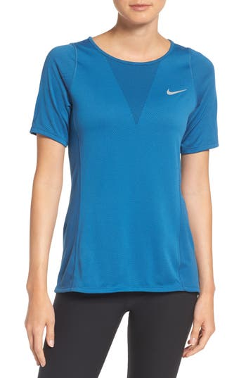 Nike Zonal Cooling Relay Tee, Blue