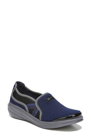 Bzees Cruise Slip-On Sneaker, Blue