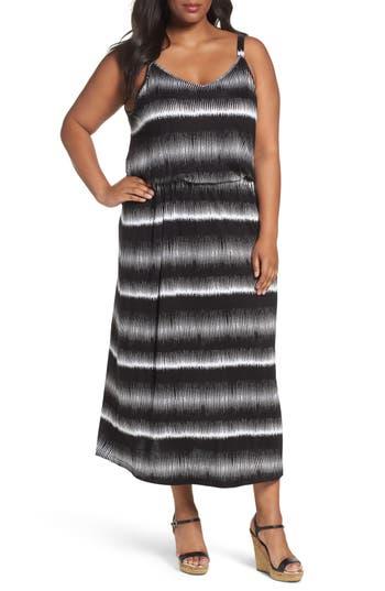 Plus Size Women's Sejour Knit Blouson Slipdress