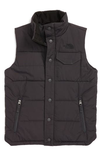 Boy's The North Face Patrick's Point Quilted Down Vest