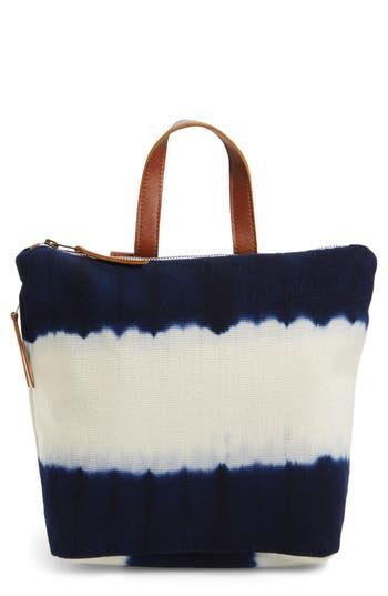 Mercado Global Mini Lorena Canvas Backpack - Blue