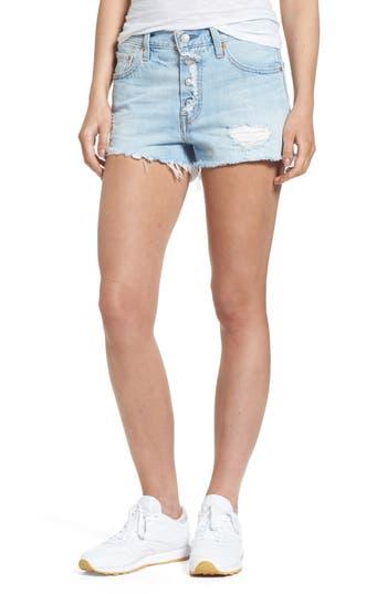 Women's Levi's 501 Cutoff Denim Shorts