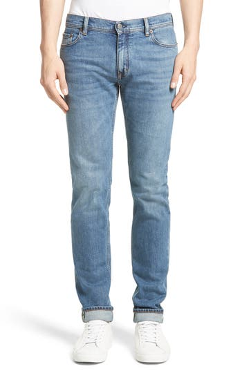 Acne Studios North Skinny Jeans, Blue