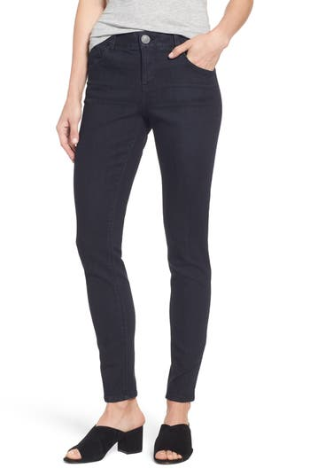 Petite Women's Wit & Wisdom Ab-Solution Stretch Skinny Jeans