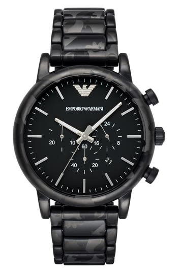 Emporio Armani Chronograph Bracelet Watch, 46Mm