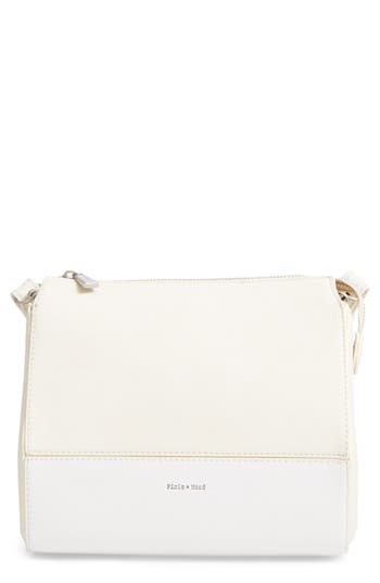 Pixie Mood Faux Leather Crossbody Bag - White