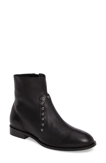 Topshop Angel Studded Boot - Black