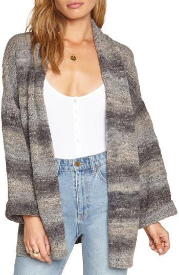 Women's Amuse Society Beckett Stripe Sweater, Size X-Small/Small - Grey