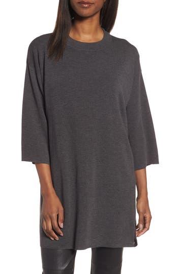 Eileen Fisher Merino Wool Tunic, Brown