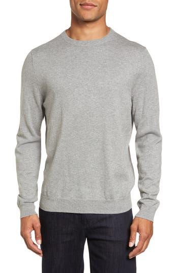 Men's Nordstrom Men's Shop Cotton & Cashmere Crewneck Sweater
