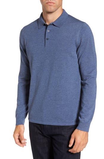 Nordstrom Shop Merino Wool Polo Sweater