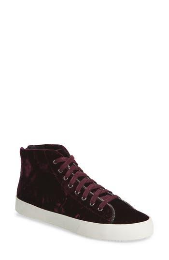 Rebecca Minkoff Zaina Zip Trim Sneaker- Purple