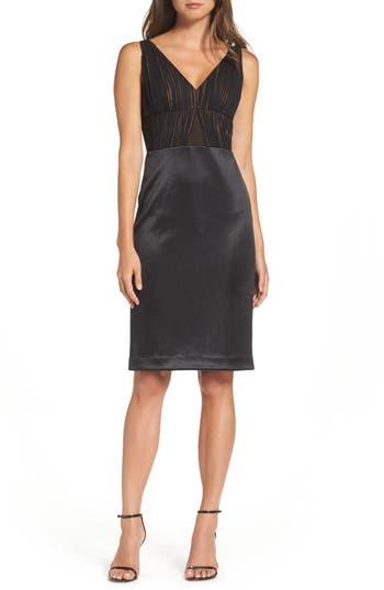Vera Wang Sheath Dress, Black