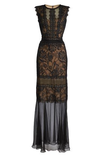Tadashi Shoji Mermaid Gown, Black