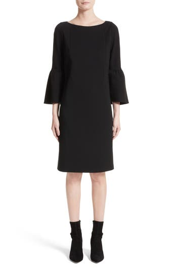 Lafayette 148 New York Marissa Punto Milano Dress, Size Petite - Black