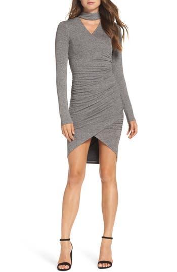 Bardot Alex Body-Con Dress, Grey