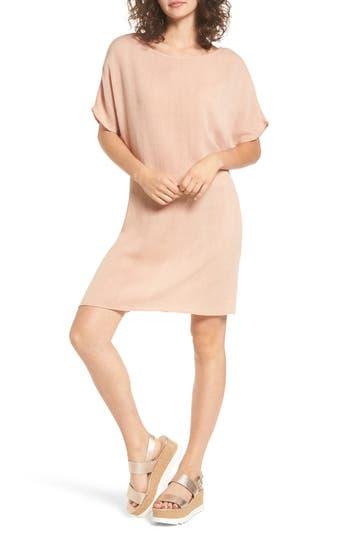 Cotton Emporium Woven Shift Dress, Beige